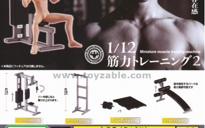Bandai Non Character 1/12 Work Out 2