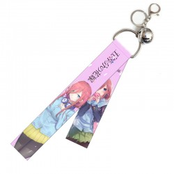 The Quintessential Quintuplets Flying Strap with keychain & little bell