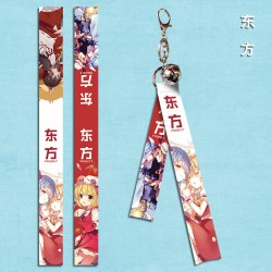 Touhou Project Flying Strap with keychain & little bell A