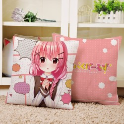 Comic Girls Square Cushion 40*40cm B
