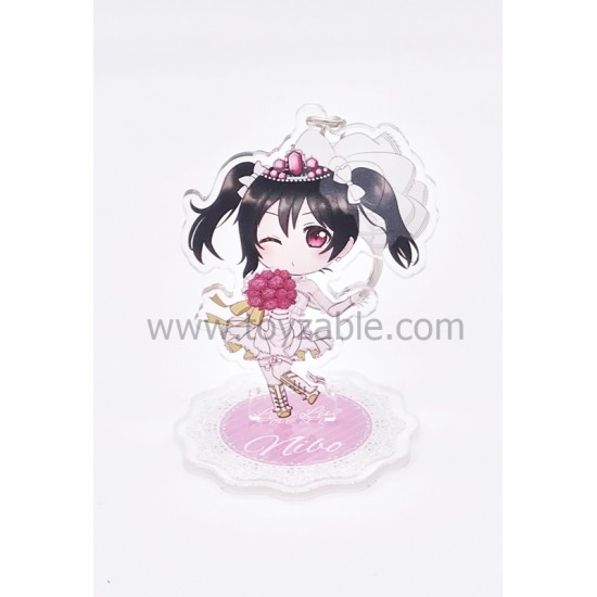 Love Live! Acrylic Keychain with Stand A