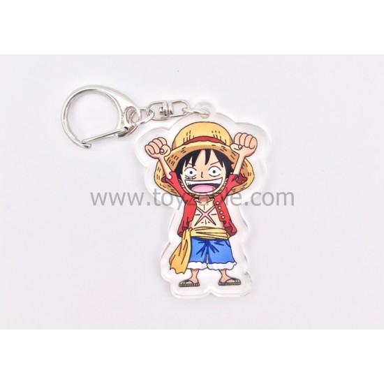 One Piece Acrylic Keychain C