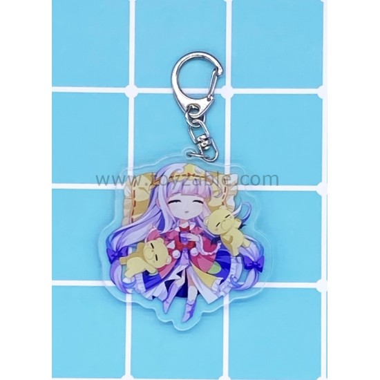 Sleepy Princess in the Demon Castle Acrylic Keychain A