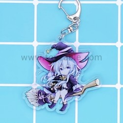 Wandering Witch: The Journey of Elain Acrylic Keychain A