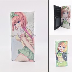 The Quintessential Quintuplets PU Leather Long Purse Wallet B