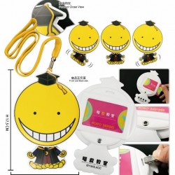 Badge Holder with string - Assassination Classroom A (Koro Sensei)