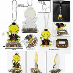 Acrylic Strap with Stand-Assassination Classroom A (Koro Sensei)