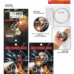 Large Badge-ONE PUNCH MAN A (Genos)