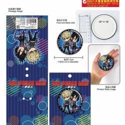 Large Badge-ONE PUNCH MAN D (Genos+Sonic)