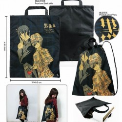 Backpack-Black Butler III A (Ciel+Sebastian)