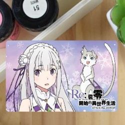 Card Sticker - ReZero K (Emilia)