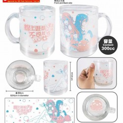 Glass Cup (transparent)-And you thought there is never a girl online A (Ako)