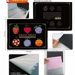 Folder kit-One Piece B (Devil fruit)