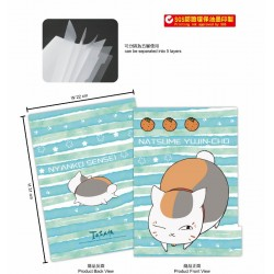 5-layer folder-Natsume's Book of Friends B (Nyannko sennsei)