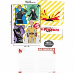 Stone Paper Notebook-ONE PUNCH MAN A (colligate)