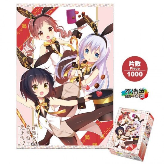 1000 Piece Puzzle-Is The Order A Rabbit A