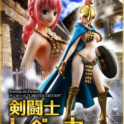 Megahouse Portrait of Pirates One Piece Sailing Again - Gladiator Rebecca (Re-issue)
