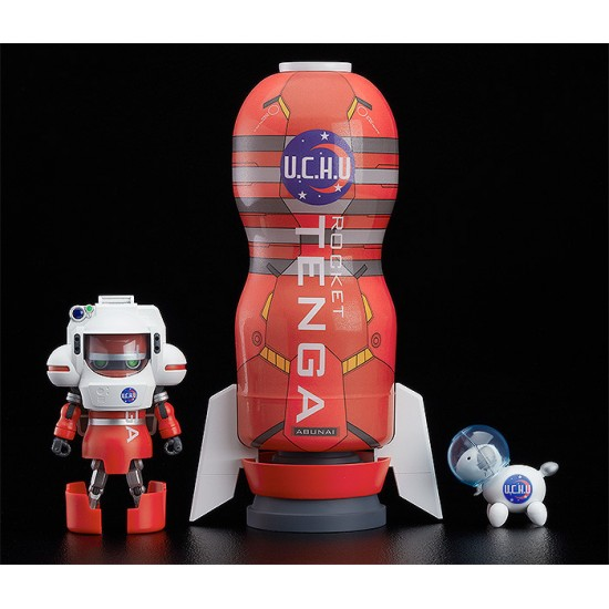 GSC Space TENGA Robo: DX Rocket Mission Set