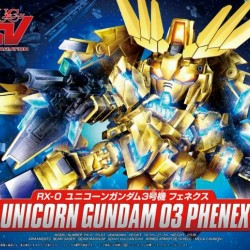 Super Deformed BB 394 Unicorn Gundam 03 Phenex