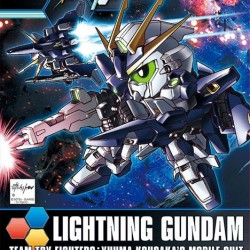 Super Deformed BB 398 Lightning Gundam