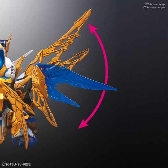SD Sangoku Soketsuden 20 Zhuge Liang Freedom Gundam