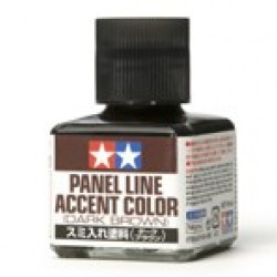 Tamiya Panel Line Dark Brown 87140