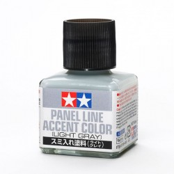 Tamiya Panel Line Light Gray 87189