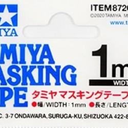 Tamiya Masking Tape 1mm 87206