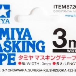 Tamiya Masking Tape 3mm 87208