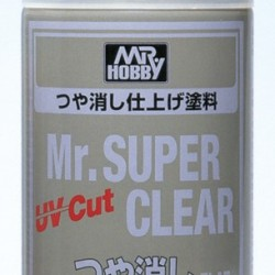 Mr.Hobby Mr Super Clear Flat UV B-523
