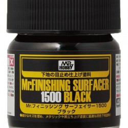 Mr.Hobby Mr.Finishing Surfacer 1500 Black SF288