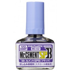Mr.Hobby Cement SPB (Black) MC-132