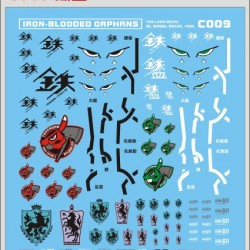 DL 1/100 & 1/144 Iron Blood Water Decal C009