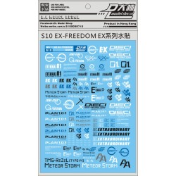 DL 1/100 & 1/144 Ex-Freedom Water Decal