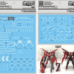 DL MG 1/100 Gundam Exia Dark Matter Water Decal