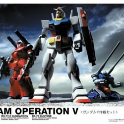 HGUC 1/144 First Gundam V-operation Set