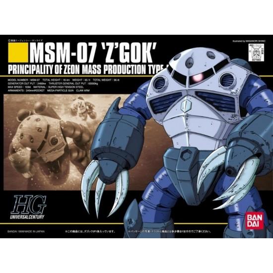 HGUC 1/144 [006] MSM-07 Z'gock