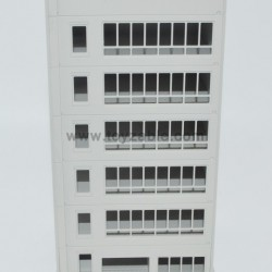 1/100 Building (White)  (L11*W11*H24)