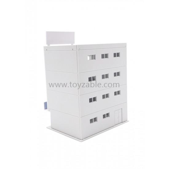 1/150 Building - Dance Class (White) (L8*W6*H9.6cm)