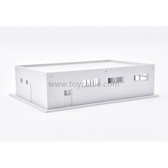 1/150 Building - Mini Mart (White) (L10.7*W8*H2.7cm)