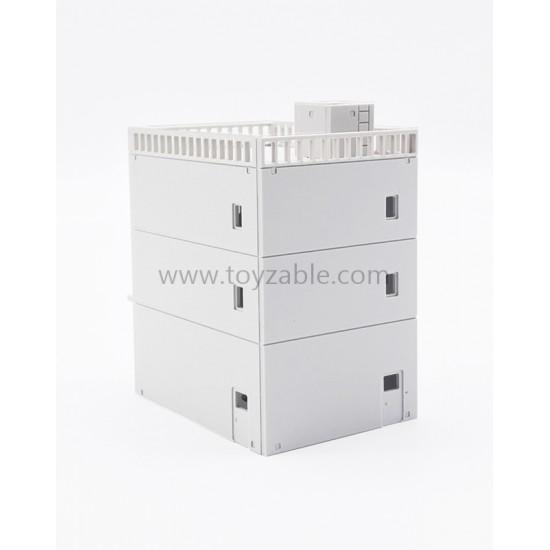 1/150 Building - ShopLot (White) (L4.5*W6*H7cm)