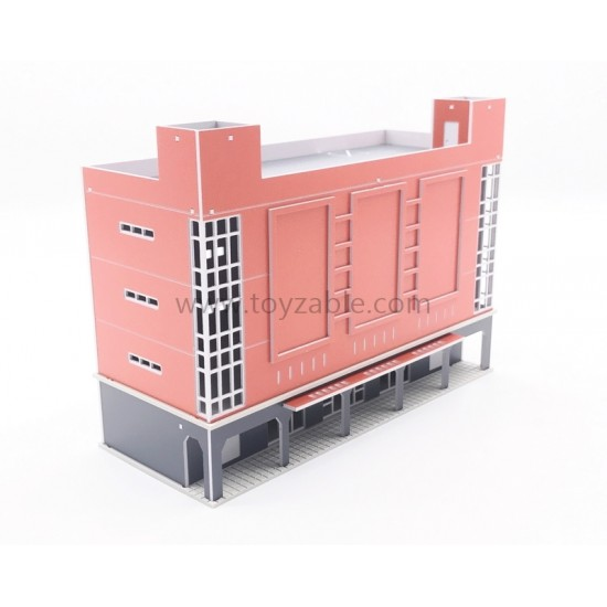 1/150 Building - Shopping Mall (Orange) (L15*W6*H11cm)