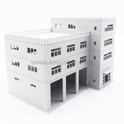 1/100 Building (White)(L20*W14*H15cm)