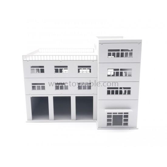 1/87 Building (White)(L23*W16*H17cm)