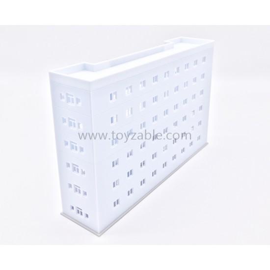 1/150 Hospital (White Grey)(L21*W6*H14cm)