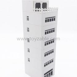 1/100 Building (White)(L5.6*W6.8*H20.5cm)