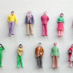 1/150 human painted miniatures - Standing pose (10pcs/pack)