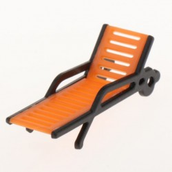 1/100 Lounge Chair miniature for diorama A - 2 unit/pack