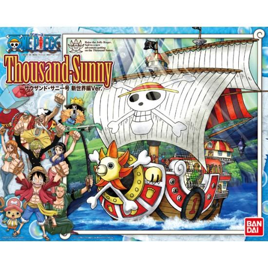 Bandai One Piece Thousand Sunny New World Ver. Ship Model Kits