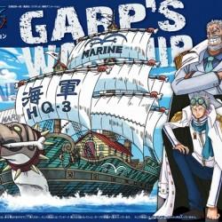 Bandai One Piece 08 Garp's War Grand Ship Collection